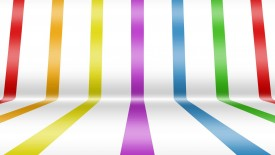 Colorful Stripes Abstract Wallpaper