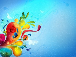 Vectors Abstract And Butterfly Wallpaper
