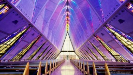 Cadet Chapel, U.S. Air Force Academy, Colorado Springs, Colorado