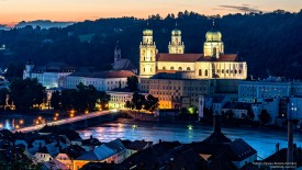 Historic Passau, Bavaria, Germany