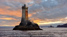 La Vieille Lighthouse, Raz de Sein, Finistere, Brittany, France