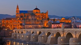 Puente Romano Bridge and Mosque of Cordoba, Spain