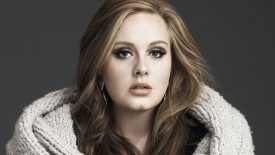 Adele Serious Look Wallpaper