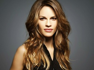 Beautiful American Actress Hilary Swank