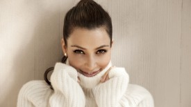Kim Kardashian In Her Sweater