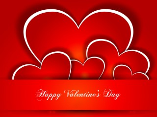 Happy Valentines Day With Lots Of Love