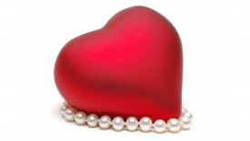 Heart In Pearls