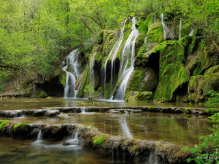 Cascade des Tufs, Jura Mountains, France