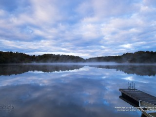 Horseshoe Lake at Daybreak, Muskoka Region, Ontario