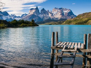 Lake Pehoe, Torres del Paine N.P., Chile