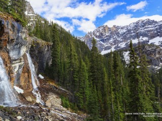 Seven Veils Falls, Yoho National Park, British Columbia