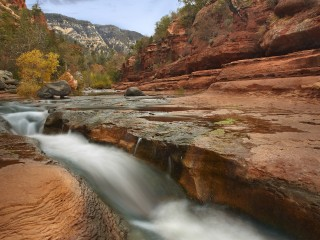 Oak Creek in Slide Rock State Park, Near Sedona, Arizona