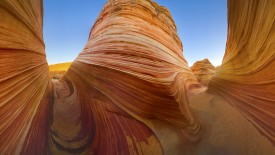 Sandstone Formations at Coyote Buttes, Paria Canyon-Vermilion Cliffs Wilderness, Arizona