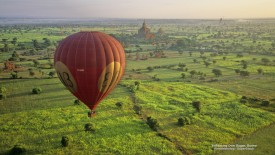 Ballooning Over Bagan, Burma