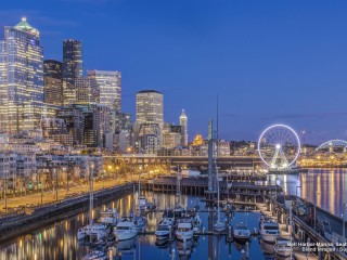 Bell Harbor Marina, Seattle, Washington