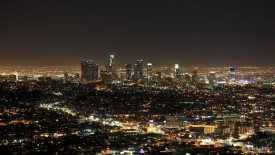 Los Angeles at Night, California