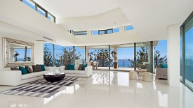 White Color Living Room Furniture Interiors