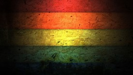 Colorful Stripes On The Wall
