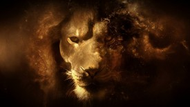 3d Lion Digital Art